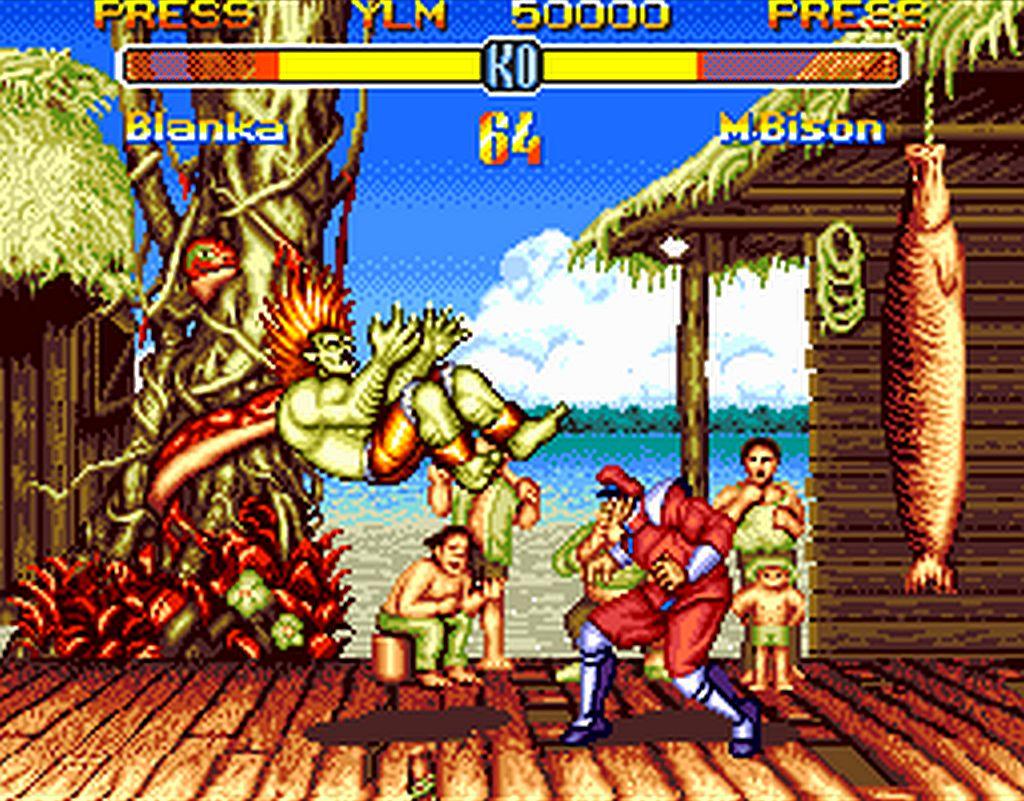 SF2 Bison Boss fight